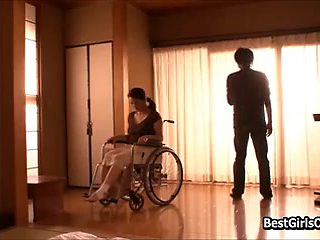 Japanese Guy Takes Well Care Sexual Needs Of Wife