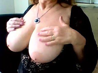 Big Boobs Mature Blonde Masturbate Squirt