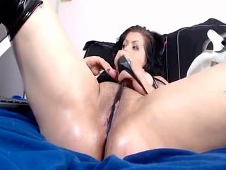 Super wet shaved pussy gets played with and squirts hard