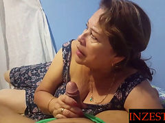 Mexican Stepmom Fucked By Her Stepson