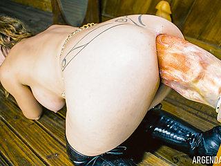 My ass eat a ForeArm Stump N' Dump