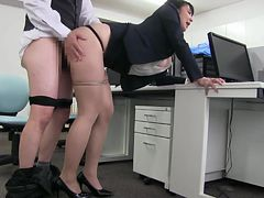 Japanese Big Tits Office Lady, Mashiro An 3