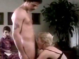 mature aunt peg sucks big cock