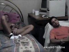 Cute French Arab Twink Wanks