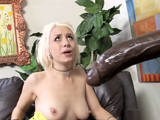 Tera Knightley Convinces Proxy Paige To Fuck A Big Black Cock