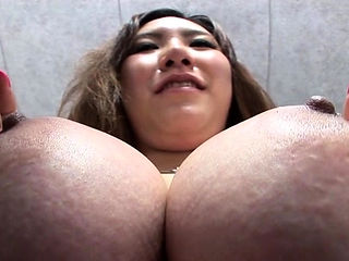 Cunning Momo Aihara with impressive tits gets cock in cuch