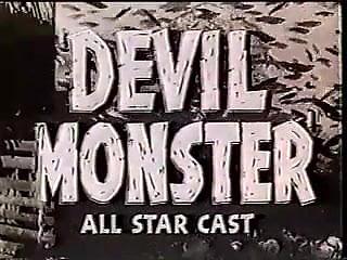 1930s exploitation, nudity Devil Monster trailer