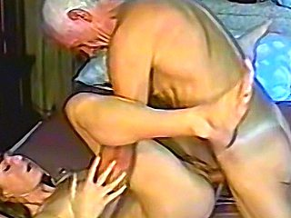 Grandpa gets himself some fresh young pussy to fuck