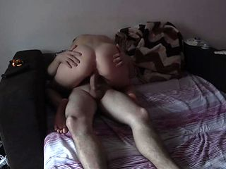 Milf fucks a stranger while her husband is home! Cheating wife