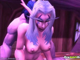 Warcraft porn selection with elfs fucking