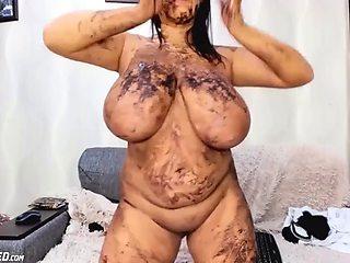 Crazy dirty busty bbw babe