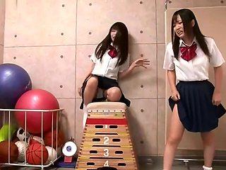 School Gym Ballbust