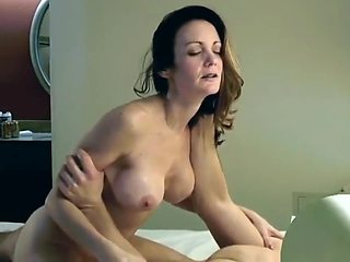 Innocent American Horny Mom with Big Boobs From LETSFUCK.TODAY Enjoying Hot Anal Sex with Her Real Canadian Step Son in Hotel Room On Vacation in New York