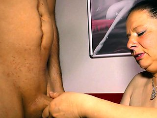 german ugly fat chubby big natural boobs housewife