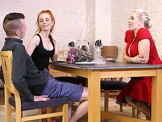 Babes - Step Mom Lessons - Sneaky Boy starrin