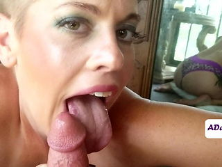 Slurping The Cum From Your Cock : A Preview