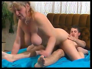 Sexy mom fucks son