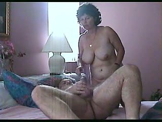 This chubby slut loves to ride my cock and she keeps coming back for more