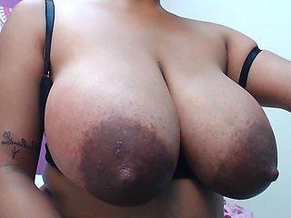 huge tits lactation large nipples HD