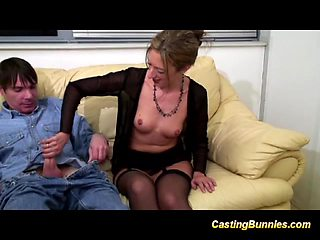 her first casting video