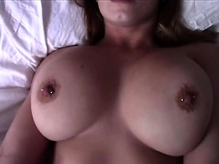 Big breasted beauty spreads her legs for a hard shaft in POV