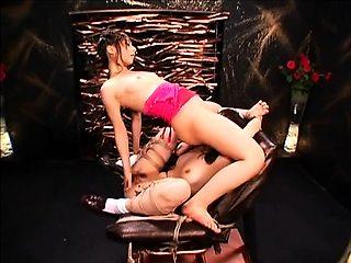 Wild Japanese fetishists exploring their lesbian fantasies