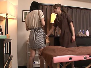 Amazing Japanese chick Ayaka Fujikita in Hottest JAV uncensored Lesbian clip