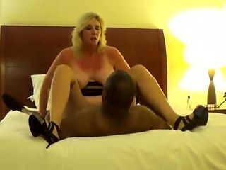 Blonde Hotwife with Qos owned by black cock
