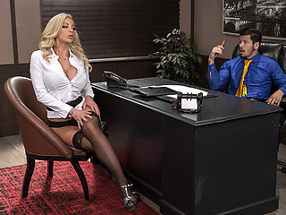 Nicolette Shea & Bambino in Boss For A Day - BRAZZERS