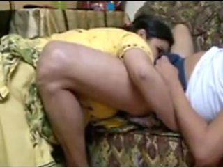 Horny Indian Aunty BJ and Fucked