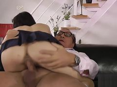 British slut gets railed
