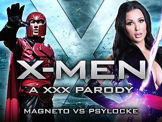 Patty Michova & Danny D in XXX-Men: Psylocke vs Magneto XXX Parody - Brazzers
