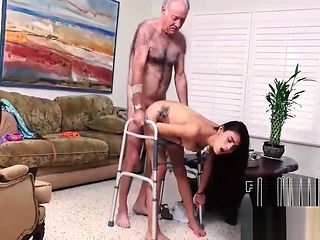 Grandpa Fucks Daughter