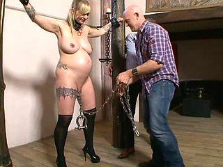 Big boobed blondes enjoy perversions