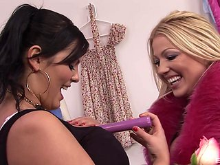 Matures Jasmine Black and Cindy Behr have fun with one hard dick