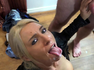 Party slut milf group facial cumshot orgy