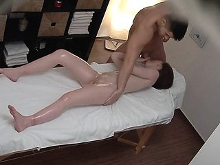 Small Teen didnt Expect Clit Massage