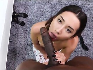 Babysitter Looks For First Anal