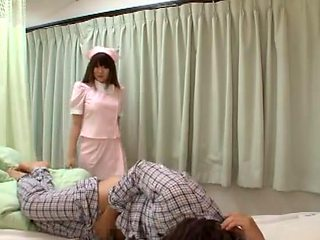 Hundred Flower Nishina Nursing Mugyumugyu Slave Big Nurse