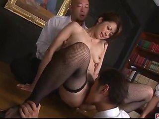 Serious Group Pleasures For Amazing Maki Hojo - More At Pissjp.com