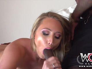 Big bum blond pornstar gets her pussy drilled by a BBC