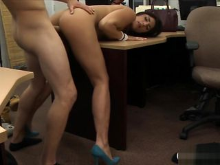 Brunette sells her Cello and gets banged