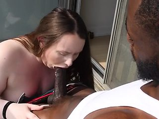 White pawg insta model destroyed by bbc