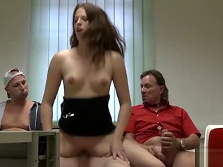 Gangbang Redhead Teen in the Hospital