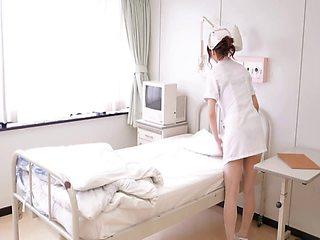 Porn videos of stunning Japanese nurse Nono Mizusawa having sex