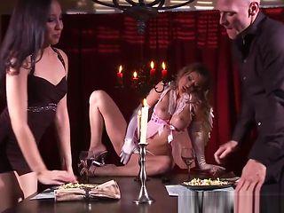 Brazzers - Pornstars Like it Big - Bitchy Cupid scene starr