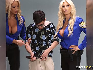 Dreams come true if you enjoy a threesome with Brittany Andrews
