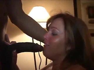 Wife Jackie. Hubby licks