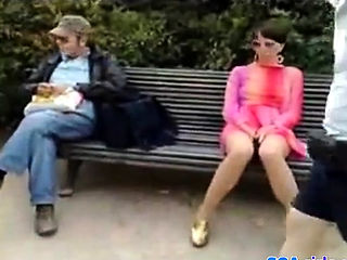 Svensk amatr fru exhibitionist