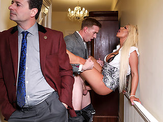 Brooklyn Blue & Danny D in Behind Her Husbands Back - BRAZZERS